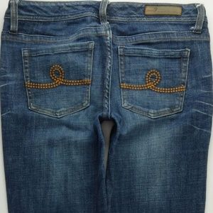 Seven7 Straight Leg Jeans Women's 29 Stretch A208J